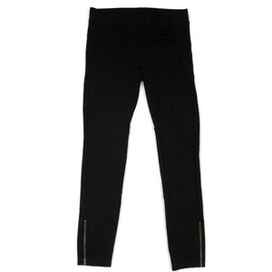 CAbi Black Zipper Ankle Legging Pants Slims Womens